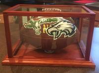 Philadephia Eagles artwork, football, painted