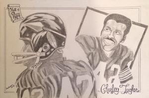 Charley Taylor, Redskins, HOF, Hall of Fame, NFL