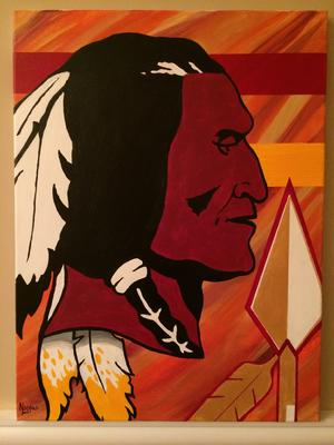 Redskins, HTTR, Painting, Artwork