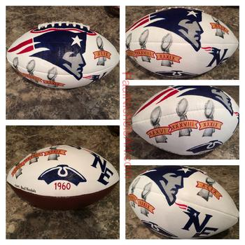 Patriots, Tom Brady, Deflategate, Super Bowl, Football, Artwork, Painting